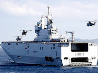 France did it: Sold the Mistral Helicopter Assault Carrier to Russia!