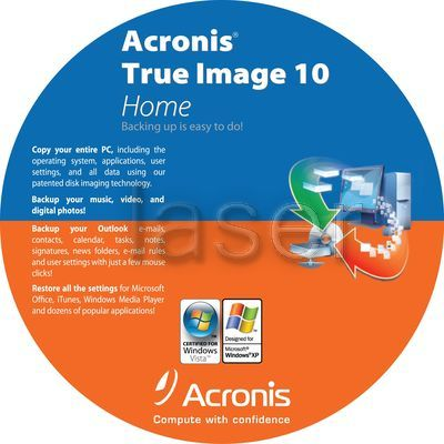 Acronis True Image Home 2010 13 Build 7046 English + Boot CD ISO + Plus Pack