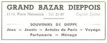 Au bazar dieppois