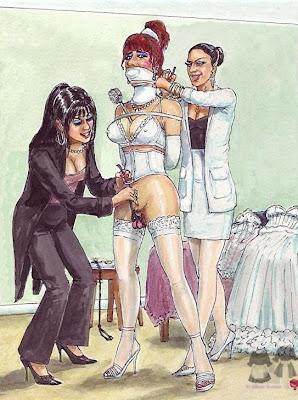 Historias de esclavas de mierda de femdom