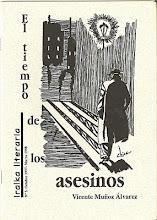 """cover """"el tiempo de los asesinos"""" v. muñoz álvarez"""