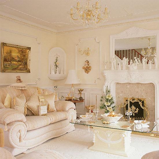 Dream Living Room: THE GILDED CHERUB: Dream Living Room