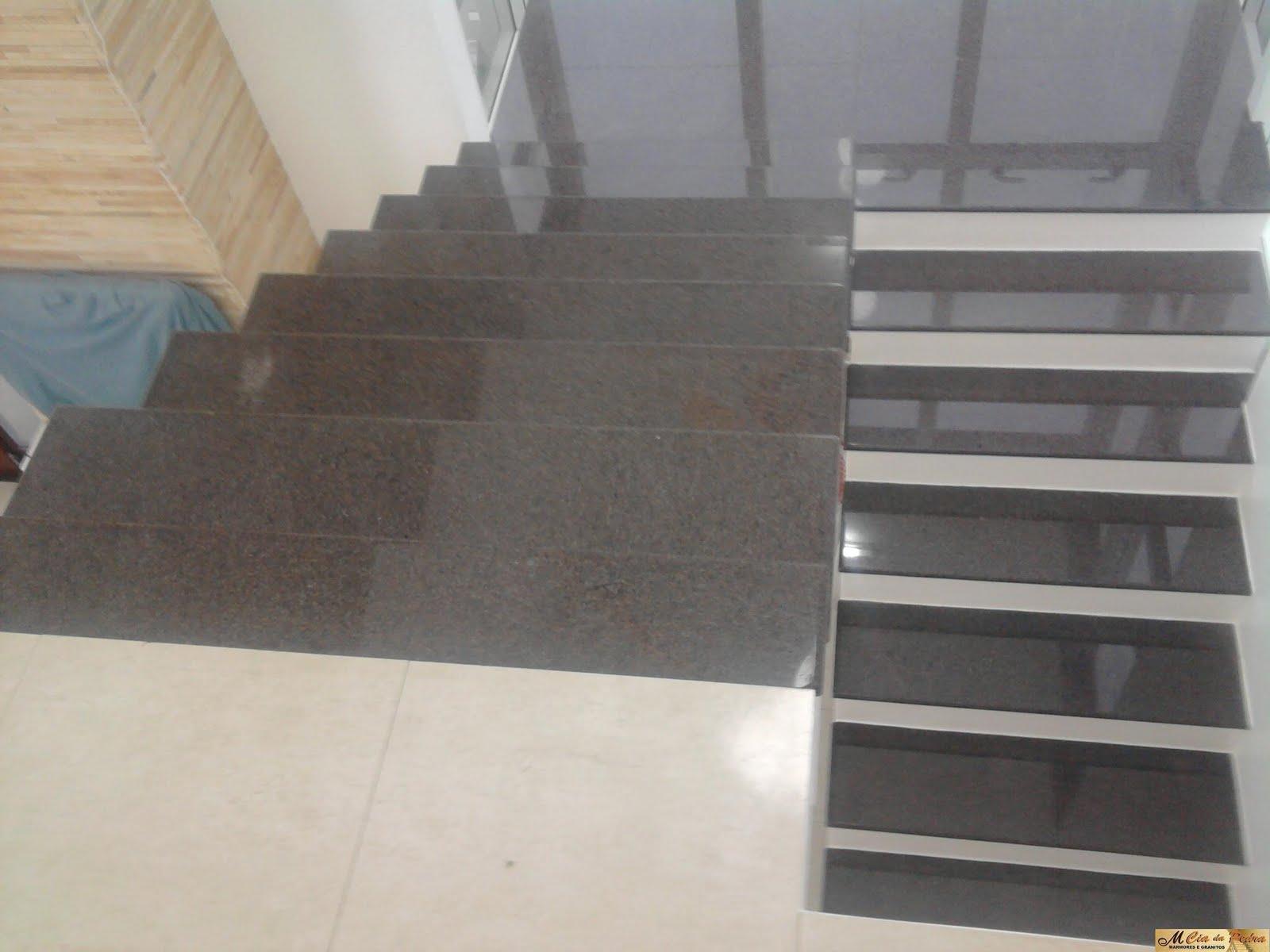 Favoritos M Cia da Pedra: Escada em Granito Café Imperial SB04