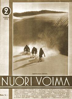 Nuori Voima 2/1934 -kansikuva