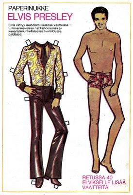 Elvis Presley -paperinukke