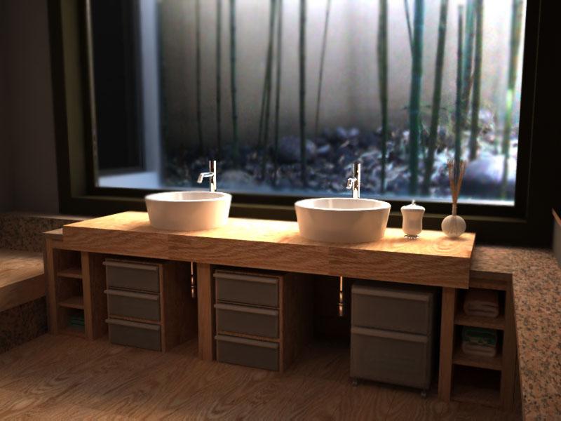 Anna ovchinnikova bagno in stile giapponese - Bagno stile giapponese ...