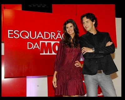 com Isabella Fiorentino e Arlindo Grund
