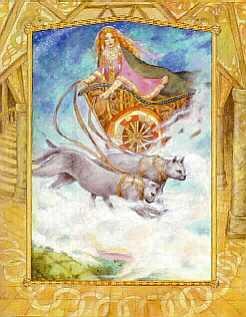 Deusa Freya Freya