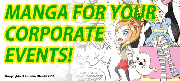 Manga for your corporate events!