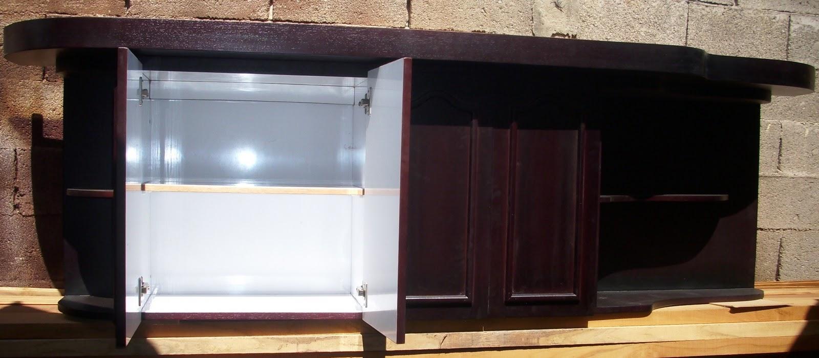 Muebles De Cocina Marron Oscuro Azarak Com Ideas Interesantes  # Muebles Marrones