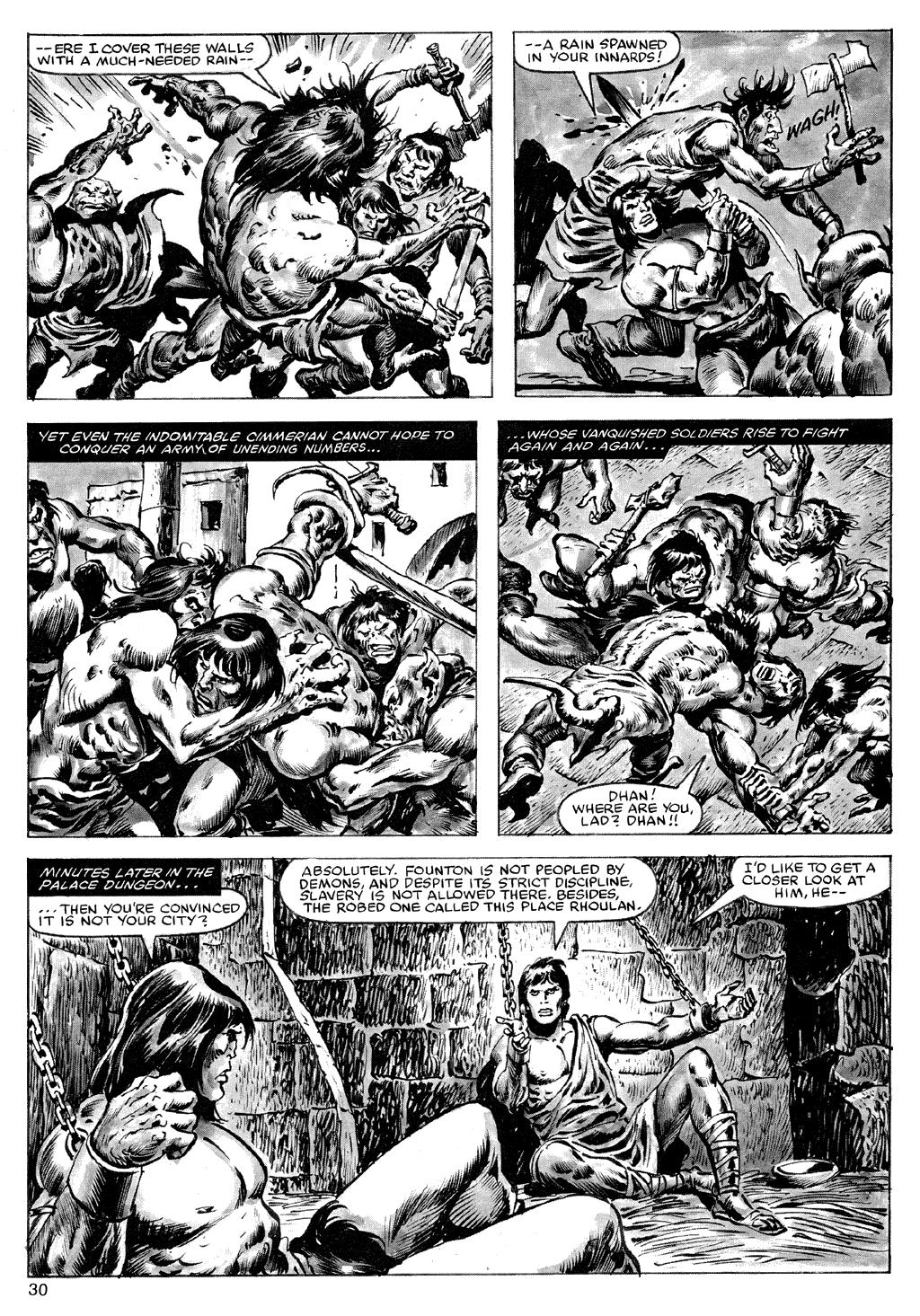 Of Conan  #164 - English 30