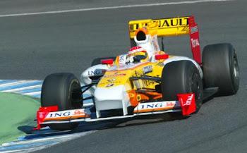 Alonso con renault de nuevo