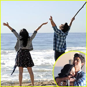 Demi Lovato Wave on Lalalandteen  Joe Jonas   Demi Lovato Grabando Video De    Make A Wave