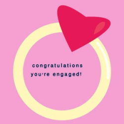 Engagement Love Card