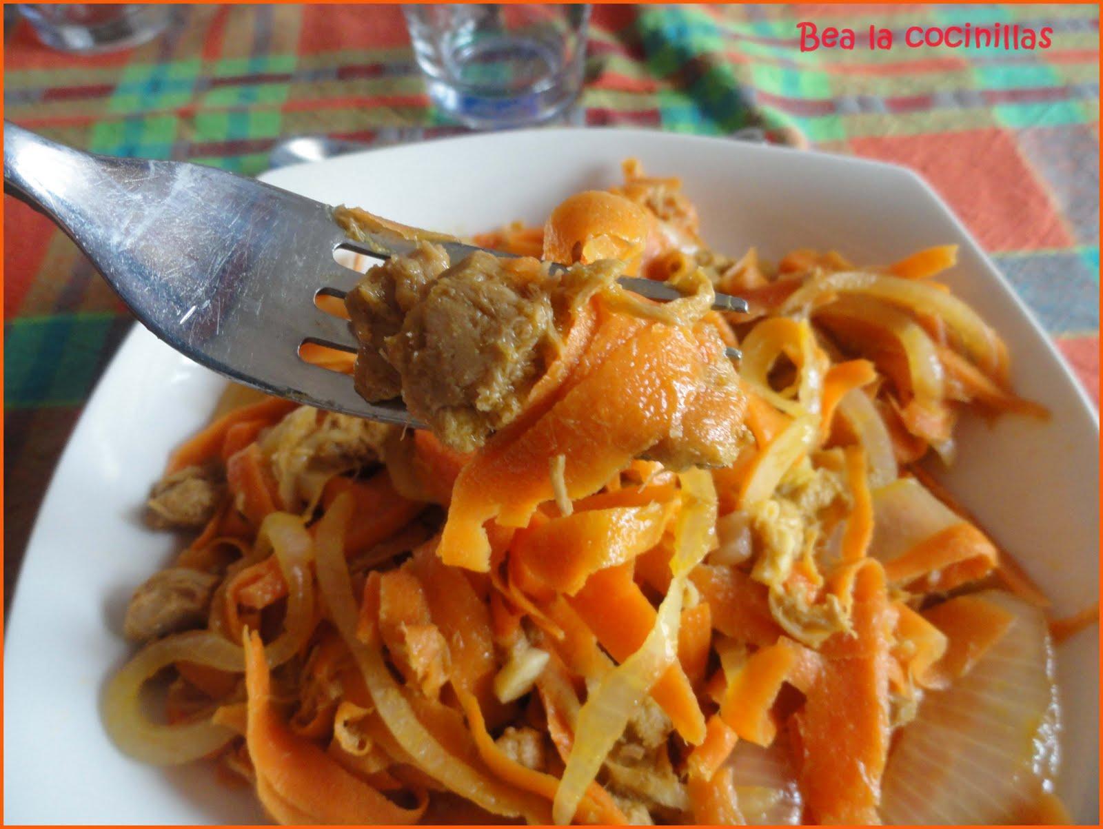 Bea la cocinillas ensalada de at n y zanahoria - Ensalada de zanahorias ...