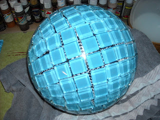 The Angry Pincushion Upcycling A Bowling Ball Day 1