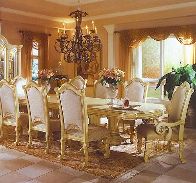 To design the dining room with