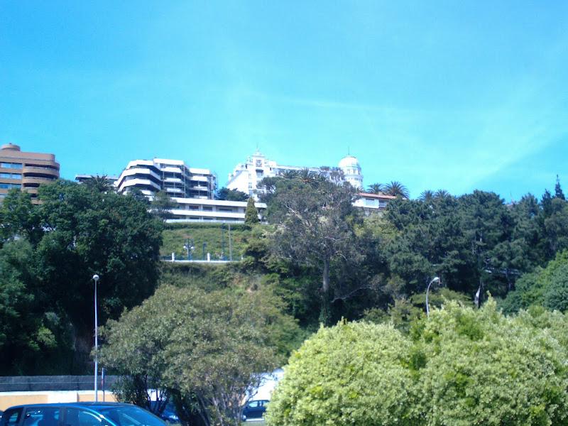 edificios de la Avenida de la Reina Victoria en Santander