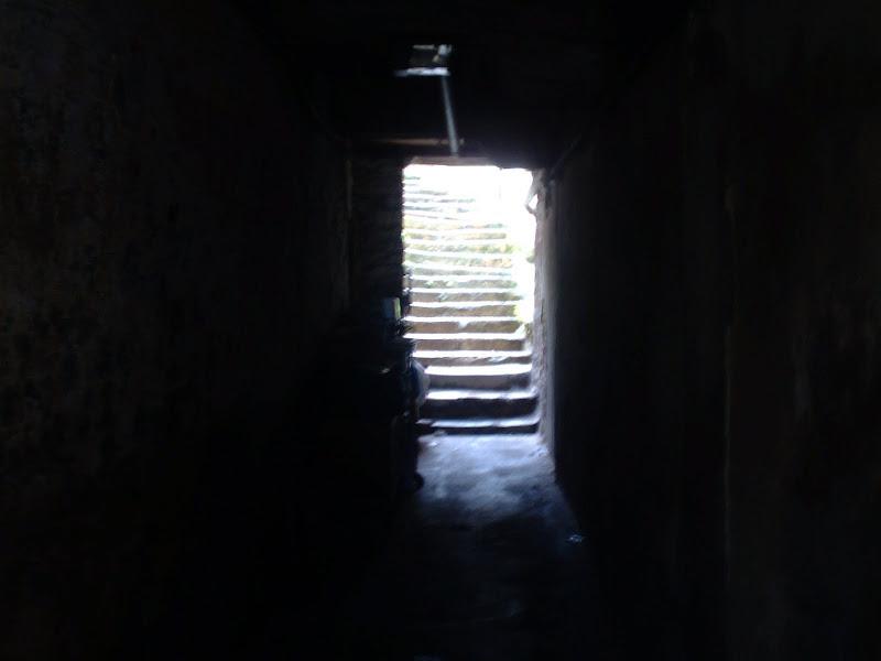 Escalera interior en la Calle Río de La Pila Santander
