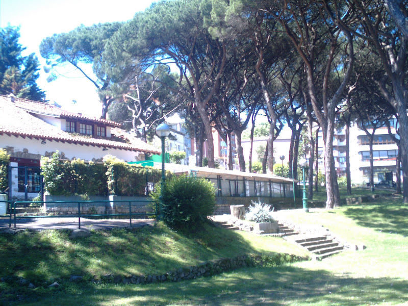 Parque Los Pinares en el Sardinero