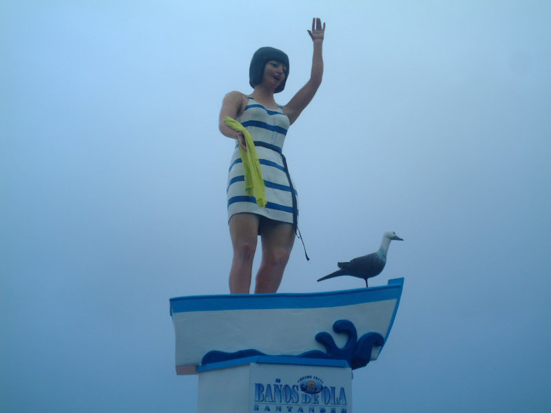 falla de los Baños de Ola Santander 2010