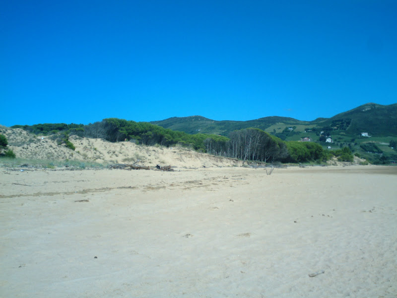 playa interior de Liencres