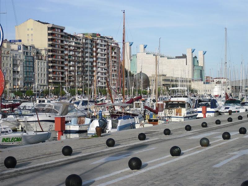 Dársena de Puertochico en Santander