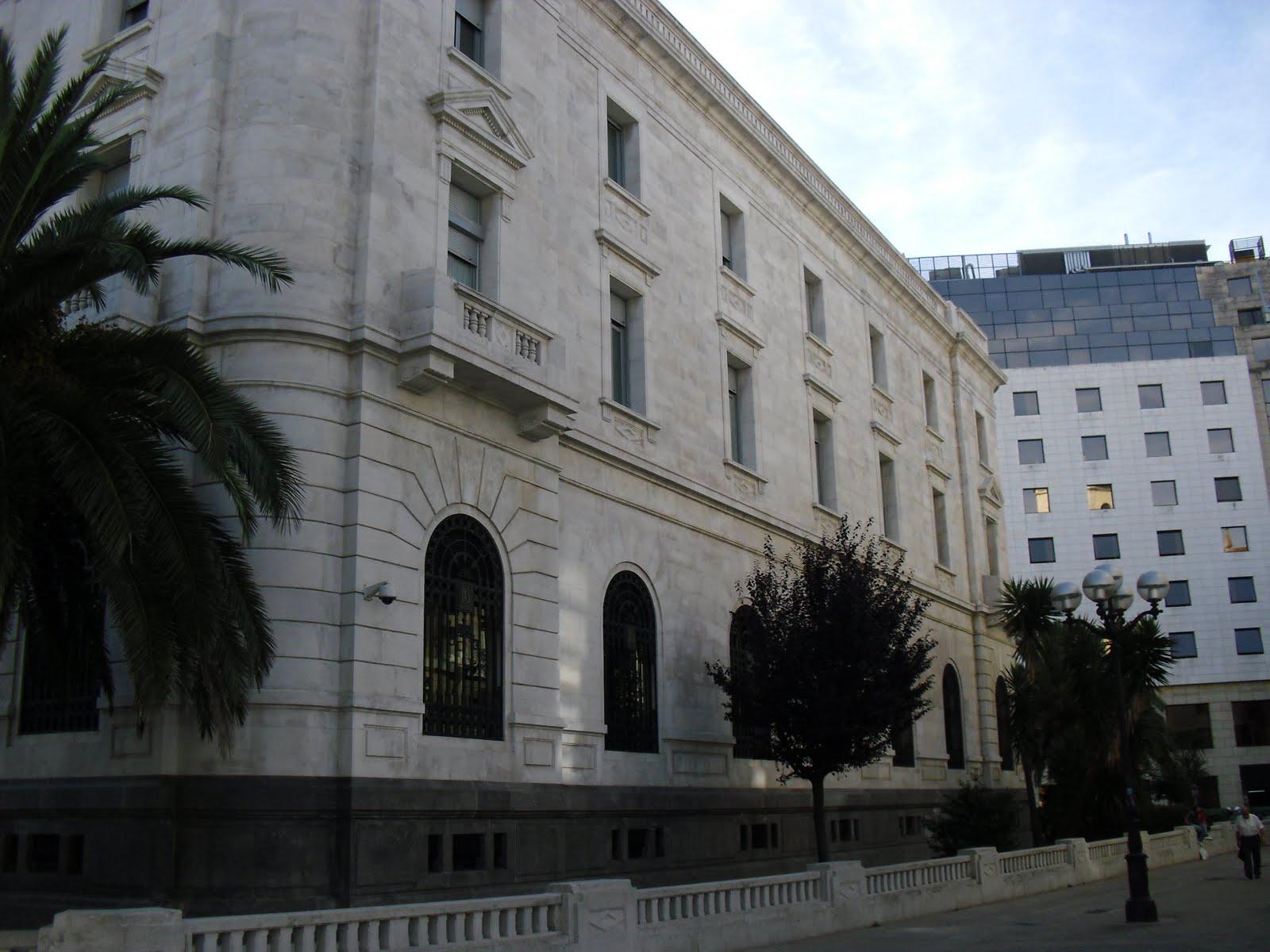 La ciudad habla edificio banco de espa a en santander for Banco santander abierto sabado madrid