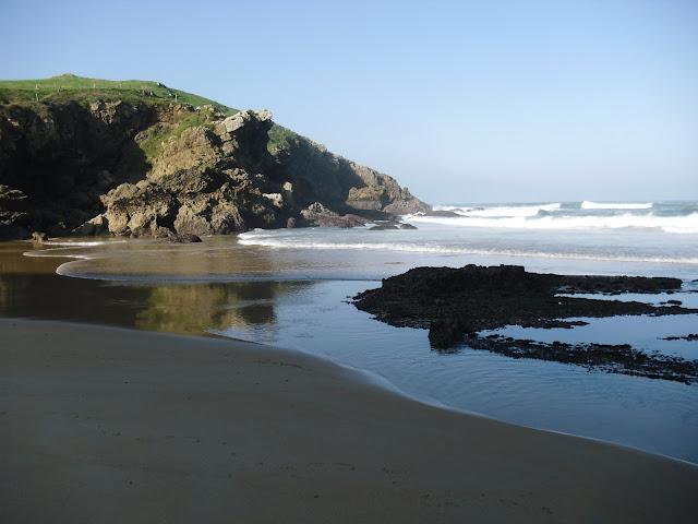 Playa de Santa Justa en Ubiarco