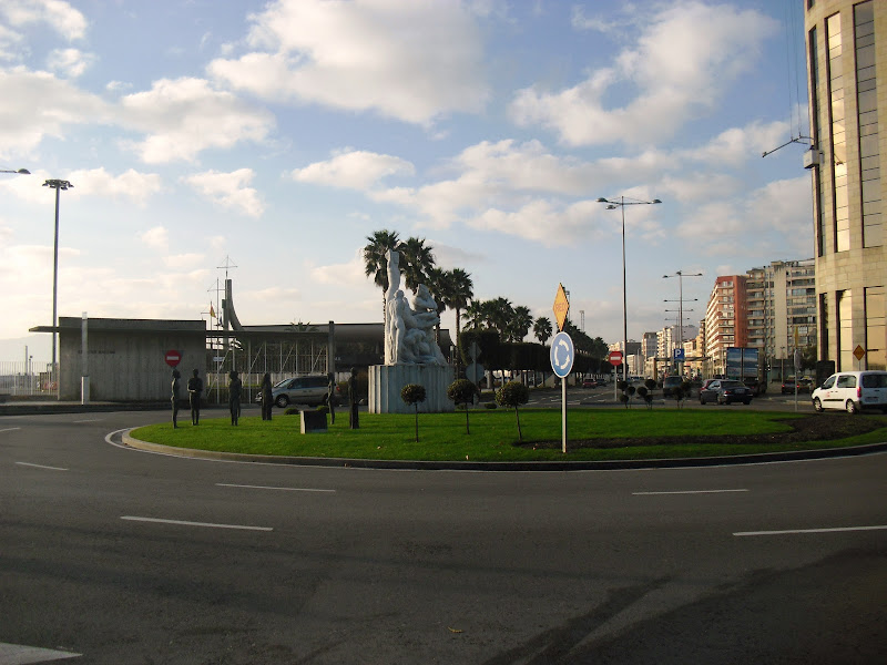 Monumento al incendio de Santander de 1941