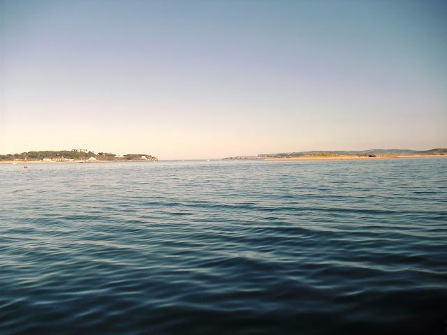 Entrada a la Bahia de Santander