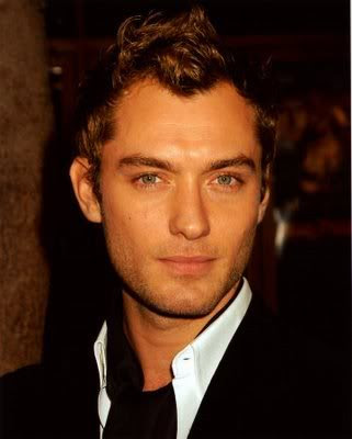 Short Hair Styles For Men With Curly Hair. Jude Law Short Curly Cool Men