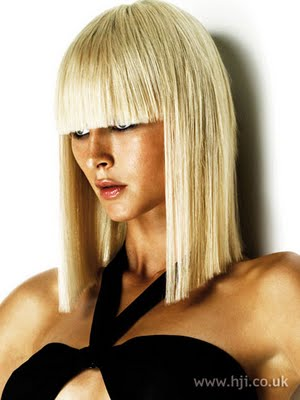 long bob hairstyles of 2008. pictures classic ob with