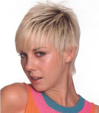Latest Cute Short Messy Women Haircuts 2010