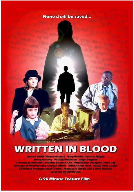 Written In Blood (Simon's First Feature Film)