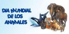 4 DE OCTUBRE: DIA MUNDIAL DE LOS ANIMALES