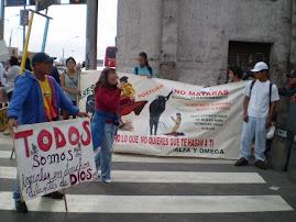 DOMINGO 14 NOV. PROTESTA EN ACHO