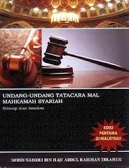 Undang-Undang Tatacara Mal Mahkamah Syariah; Prinsip dan Amalan
