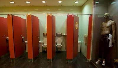 Funny Portuguese toilet