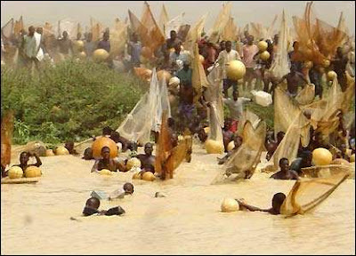 Fishing Festival in Nigeria