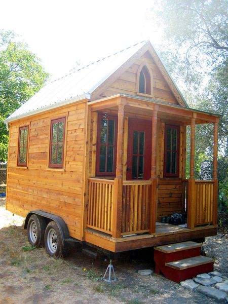 A house on wheels
