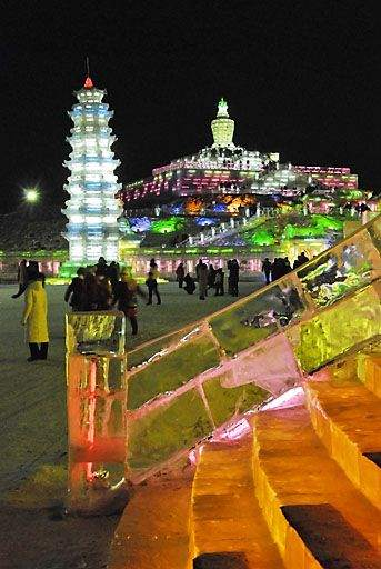 Ice and Snow Festival in China