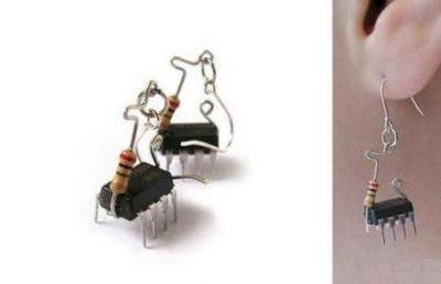 Strange earrings