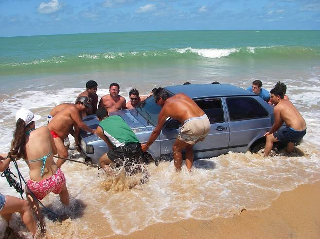 How to wash a car in a SEA