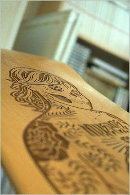 Amazing wood carving