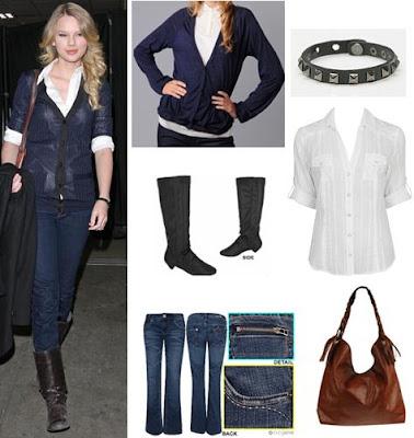 Taylor Swift Fashion: April