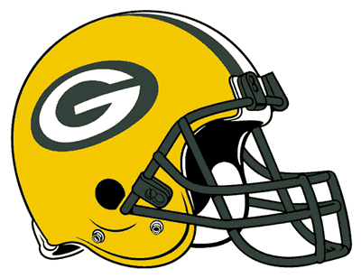 not only is the green bay packers' helmet logo the only of the two-worded