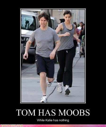 lmao moobs