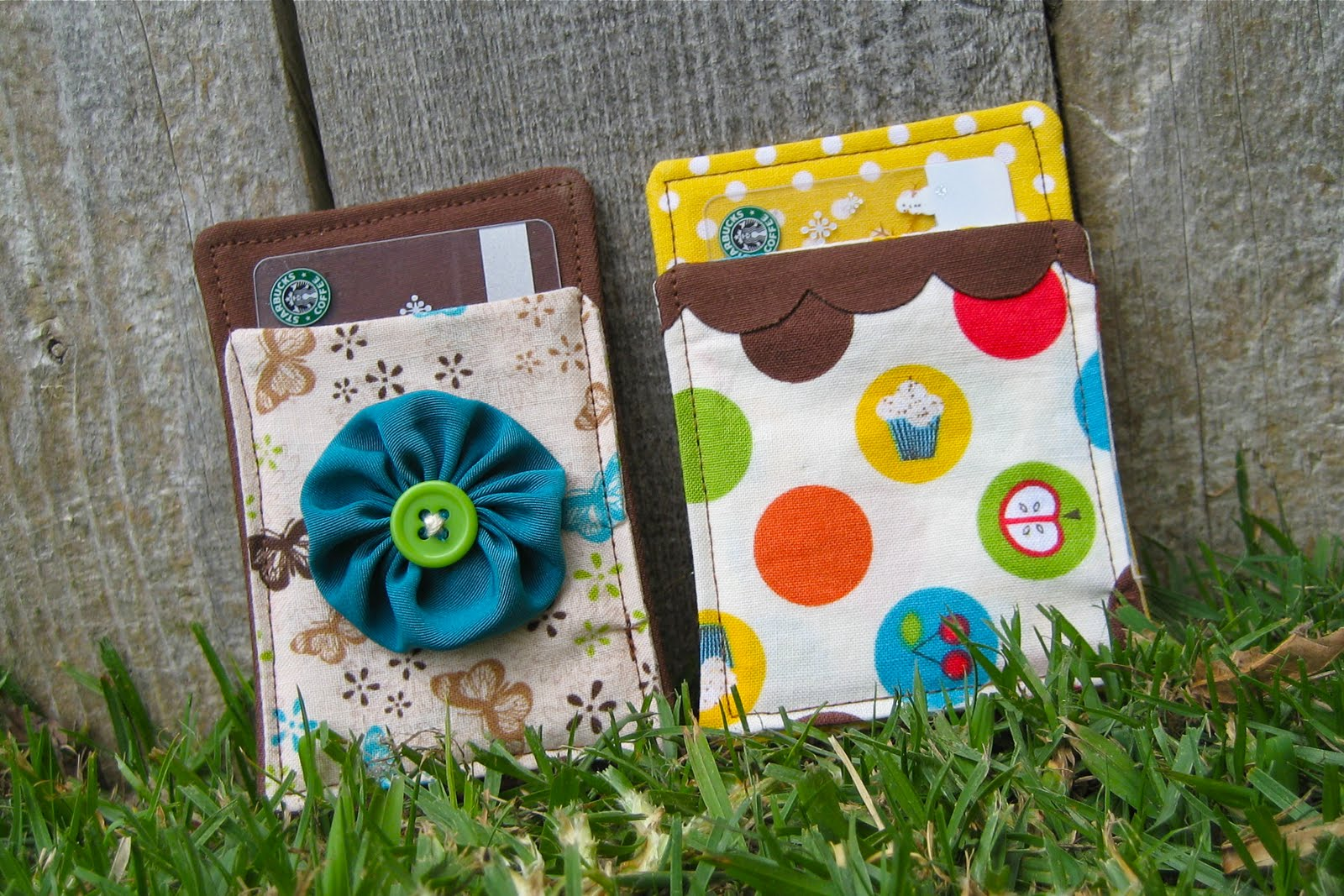 Random Craft: Handmade Christmas: Fabric Gift Card Holders