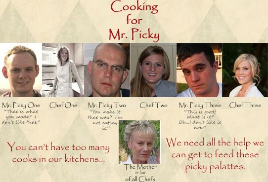 Cooking for Mr. Picky